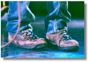 Keanu's Boots photo by S. Phillips
