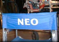 Neo's chair. Yeah, his ass was in this