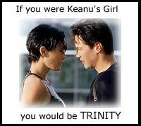 Trinity and Keanu