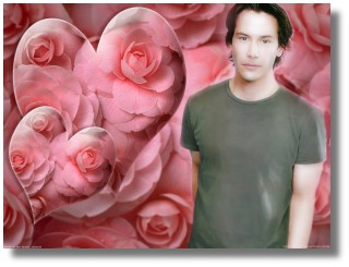 Have a little Keanu love - click for wallpaper